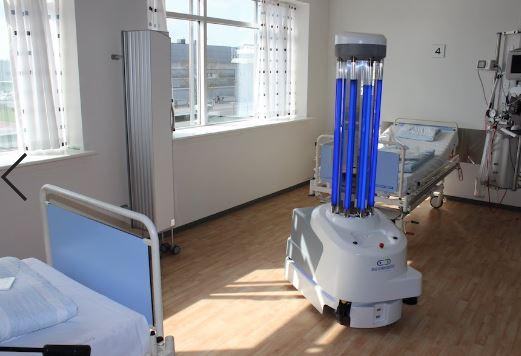 La robótica permite desinfectar los hospitales con mayor eficacia
