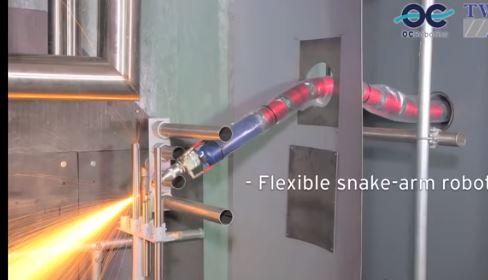 El robot de OC Robotics se desplaza como una serpiente