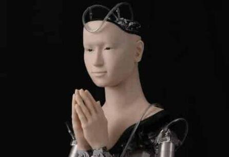 Un androide japones llamado Mindar es un sarcedote budista