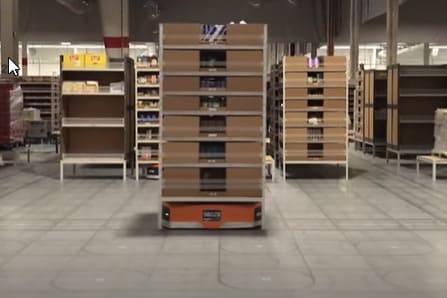 La multinacional Amazon realiza una IA diseñada para controlar un millar de robots de almacén